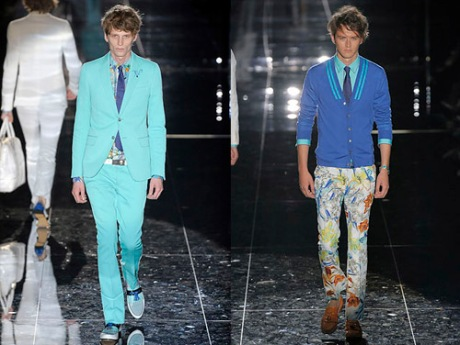 Mint Green Suits & Floral Pants