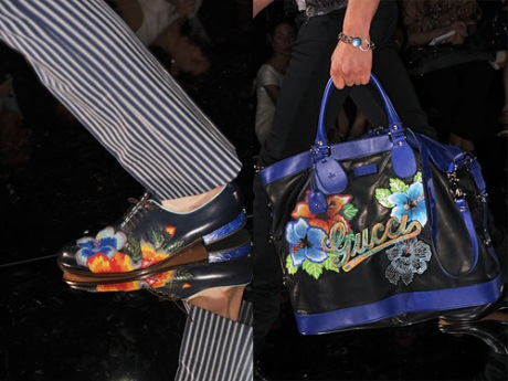 Gucci\'s Kitschy Florals