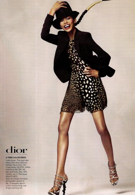 Chanel Iman by David Sims