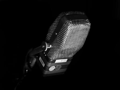 Microphone by Hedi Slimane