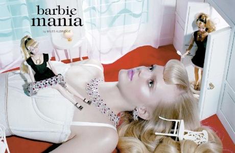 Barbie Mania by Miles Aldridge