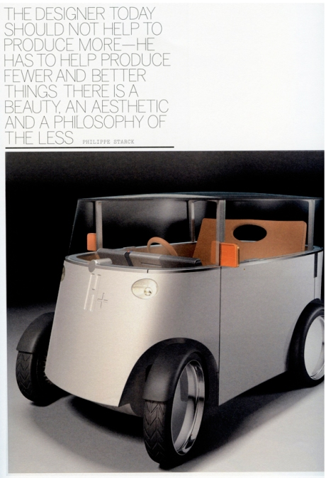 Phillipe Starck's Hydrogen Car