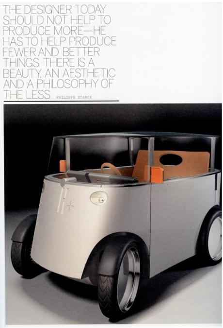 Phillipe Starck's Hydrogen Car