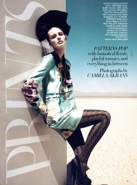 Edita by Camilla Akrans for Bazaar